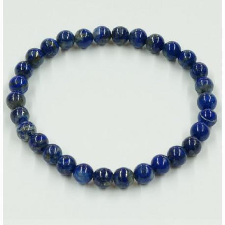 Lapis lazuli ásványékszer golyós karkötő - 6 mm