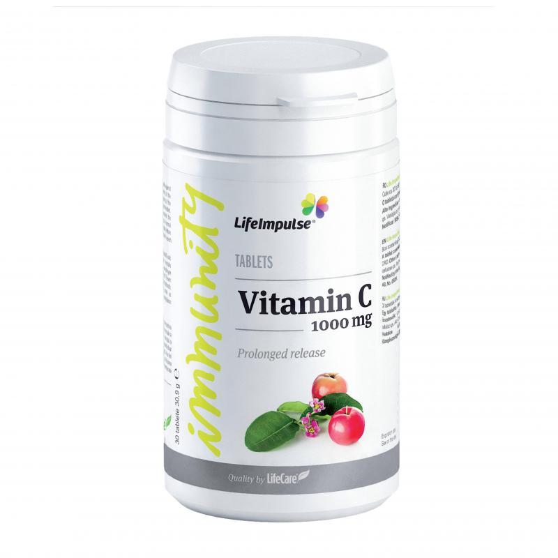 Life Impulse C-vitamin 1000 - hosszú felszívódás
