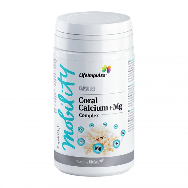 Life Impulse® korall kalcium és magnézium komplex