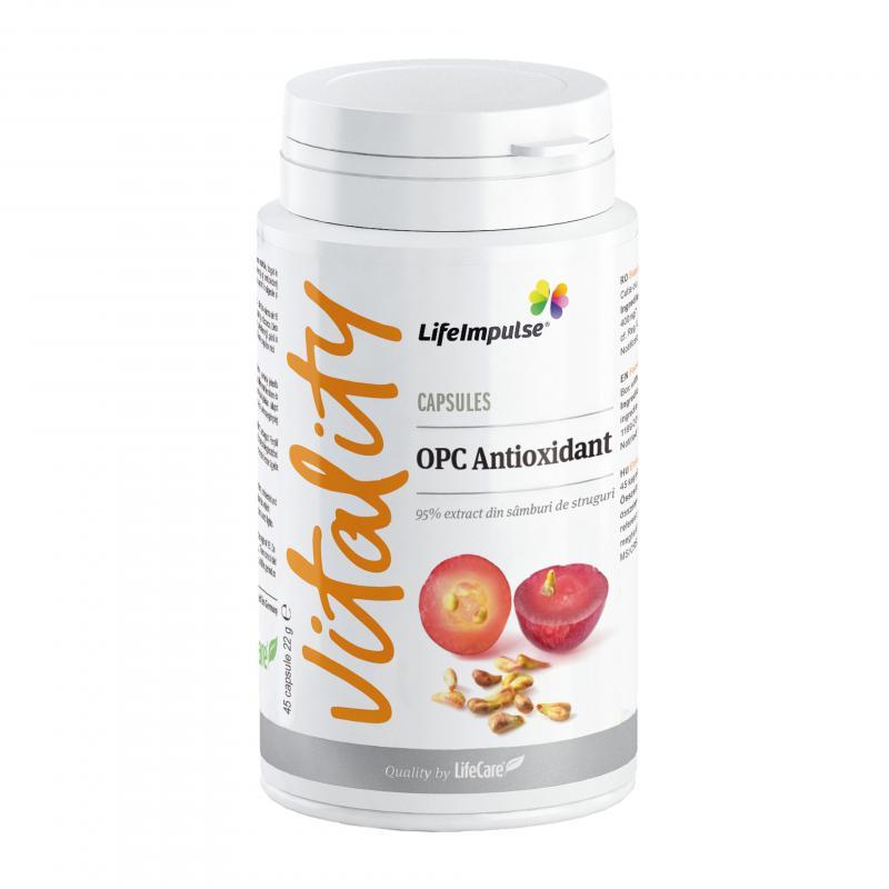 Life Impulse® OPC Antioxidáns