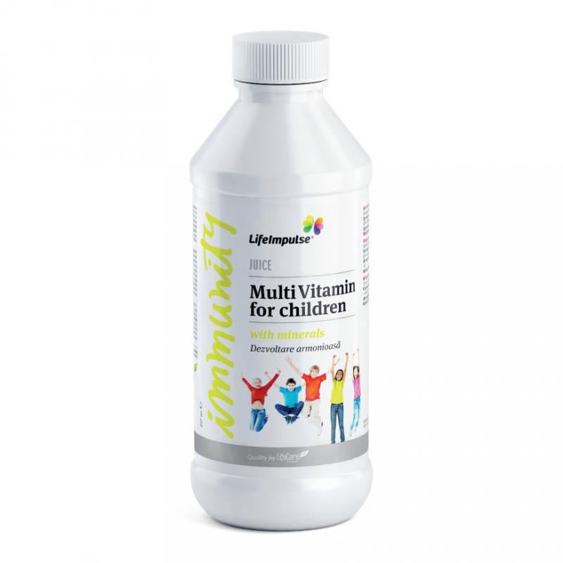 Life Impulse® vitamin gyerekeknek - a harmonikus fejlődés záloga