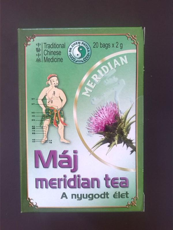 Máj Meridian tea - 20db