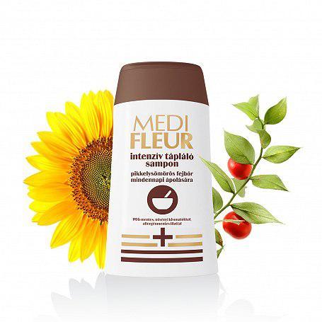 Medifleur sampon intenzív tápláló pikkelysömörös fejbőr 150ml