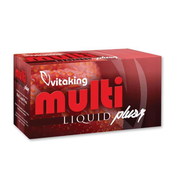 Multi Liquid Plusz multivitamin 30 szem