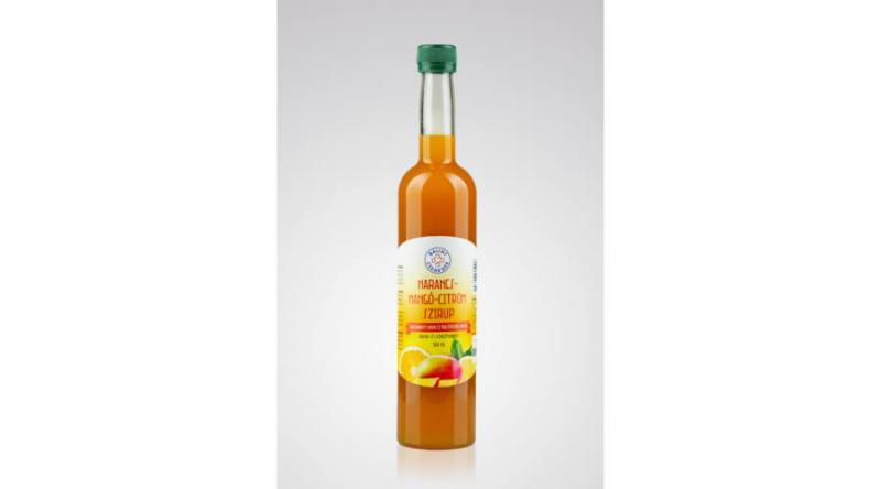 NARANCS-MANGÓ-CITROM SZIRUP - 500 ml