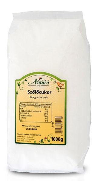 Natura Szőlőcukor 1kg (1000g) 36d2659206