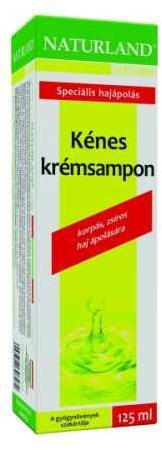 NATURLAND Kénes krémsampon - 125 ml