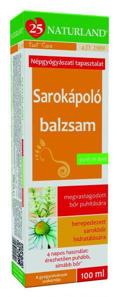 NATURLAND Sarokápoló balzsam - 100 ml