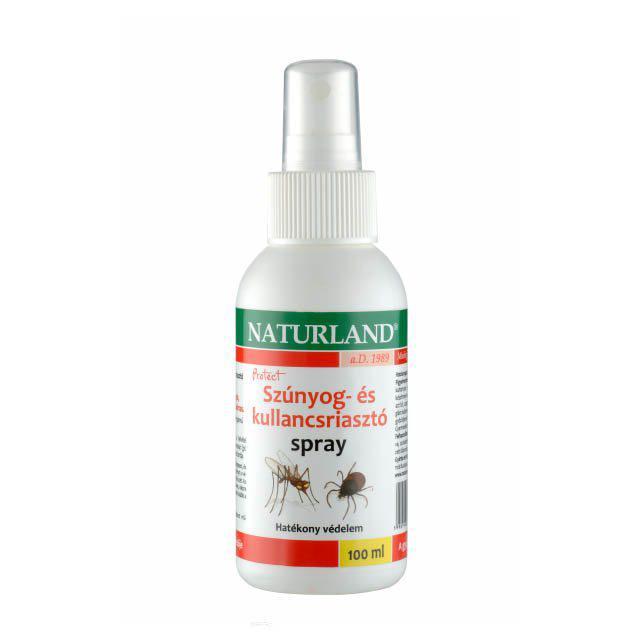 NATURLAND szúnyog- és kullancsriasztó spray - 100 ml