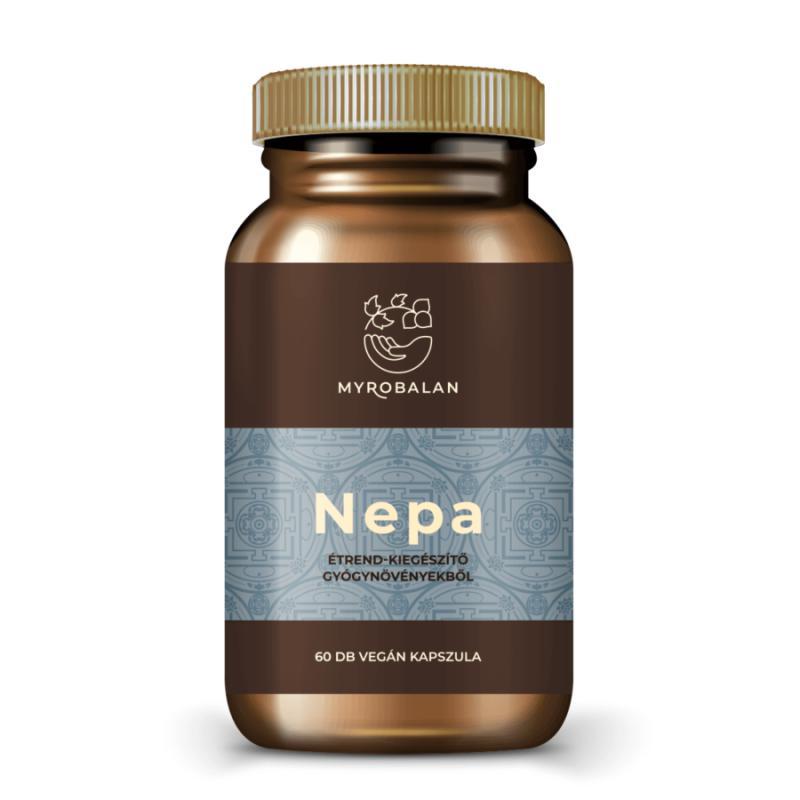 Nepa - gyógynövény kapszula a nyugodt tudatért - 60 szem