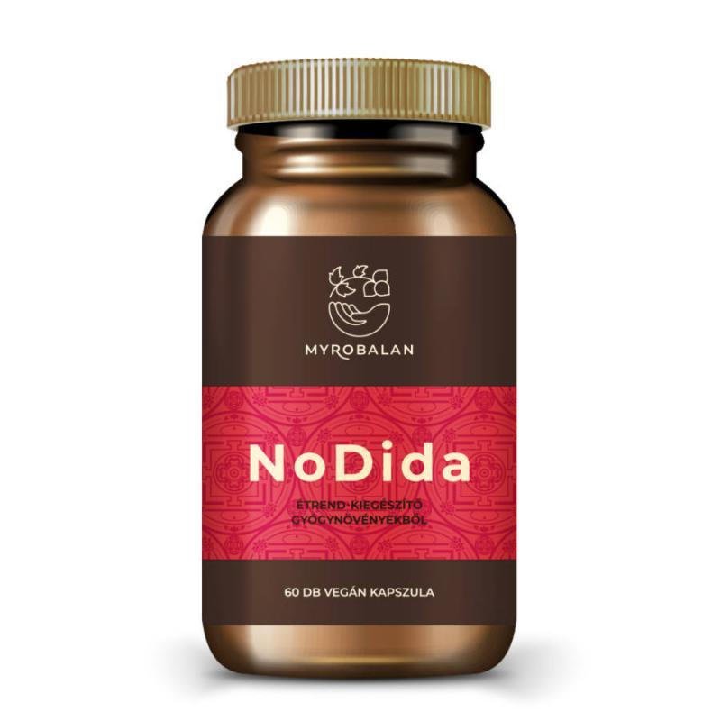 NoDida - gyógynövény kapszula gombák, paraziták és férgek ellen - 60 szem