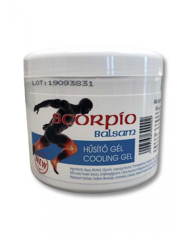 SCORPIO Balzsam emelt hatóanyaggal - 500 ml