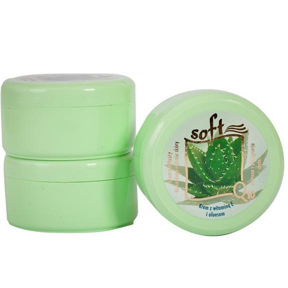 SOFT Q10 (arc és testkrém, félzsíros, aloe vera kivonattal) - 170 ml