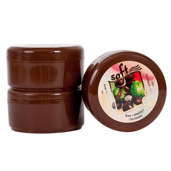 SOFT Q10 (arc és testkrém, félzsíros, gesztenye kivonattal) - 170 ml