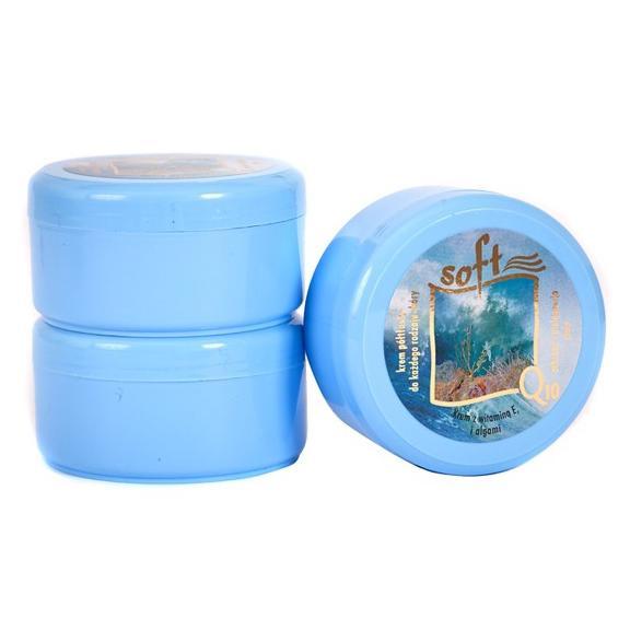SOFT Q10 (arc és testkrém, félzsíros, tengeri algával) - 170 ml