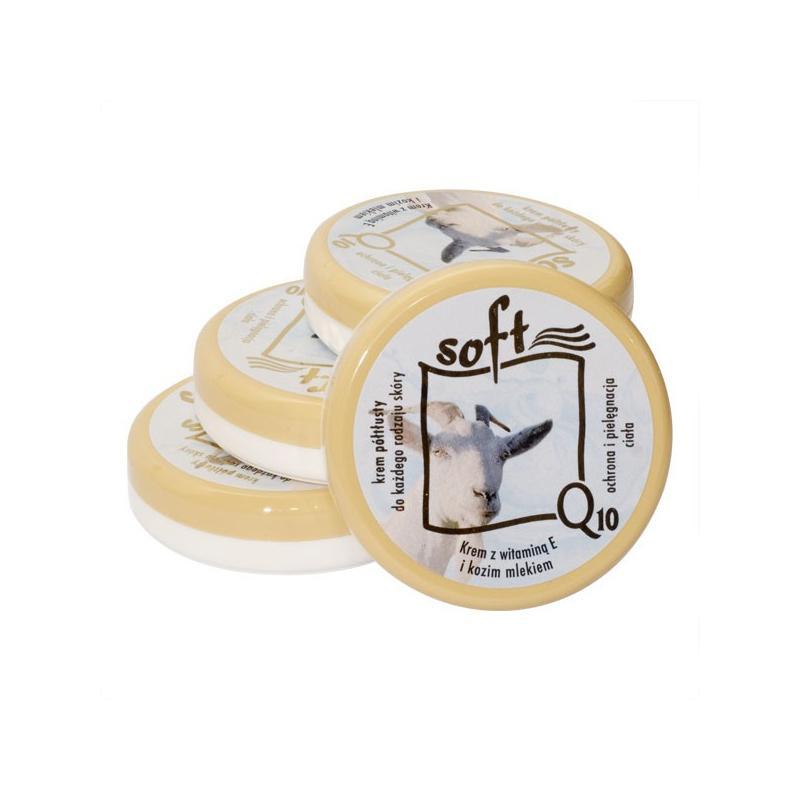 SOFT Q10 és KECSKETEJES KRÉM (mindennapi ápoló krém) - 50 ml