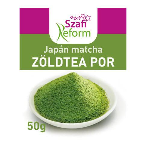 Szafi Reform Japán matcha zöldtea por 50 g