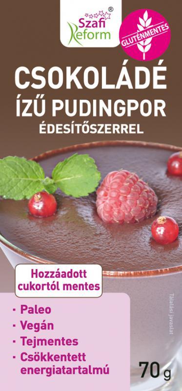 Szafi Reform Pudingpor csokoládés 70 g