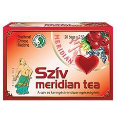 Szív Meridian tea - 20db