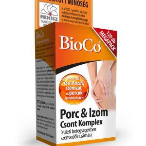 BioCo® Porc és Izom csont komplex - 120 szem