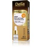 DELIA GOLD & COLLAGEN Élénkítő szérum a ráncok ellen 10 ml