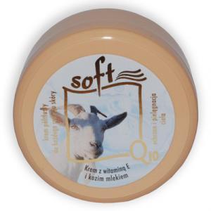 SOFT Q10 és KECSKETEJES mindennapi ápoló KRÉM - 170 ml