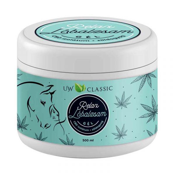 UW Lóbalzsam Relax +9 gyógynövény - 500 ml