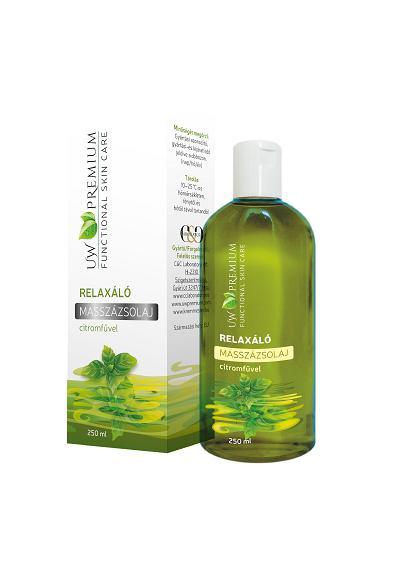 UW Premium Relaxáló Masszázsolaj - 250 ml