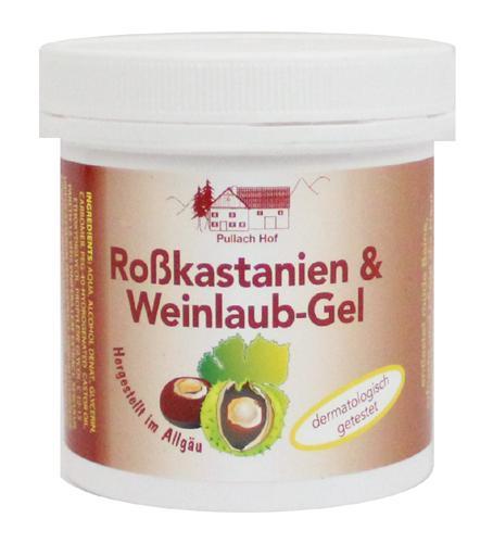 VADGESZTENYE és VÖRÖS SZŐLŐLEVÉL ZSELÉ/VISSZÉRKRÉM (visszér kezelésére) 250 ml