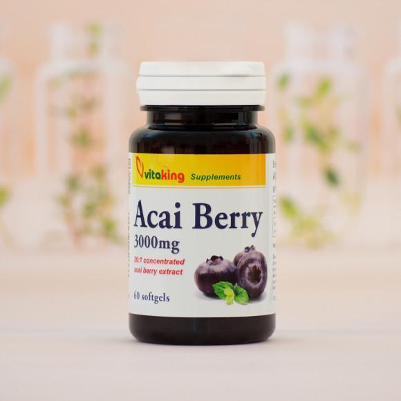 Vitaking Acai Berry 3000mg - 60 szem