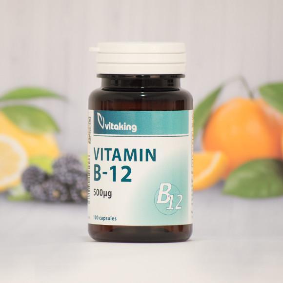 Vitaking  B-12 vitamin 100 szem