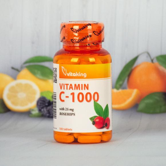 Vitaking  C-vitamin 1000 mg 100 szem
