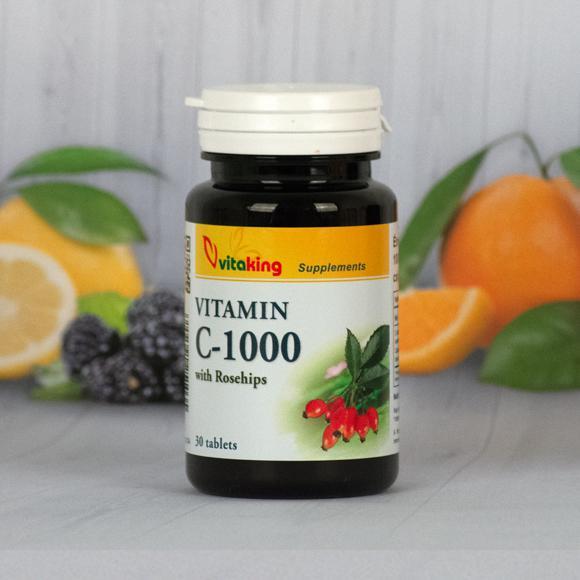 Vitaking C-vitamin 1000mg 30 szem