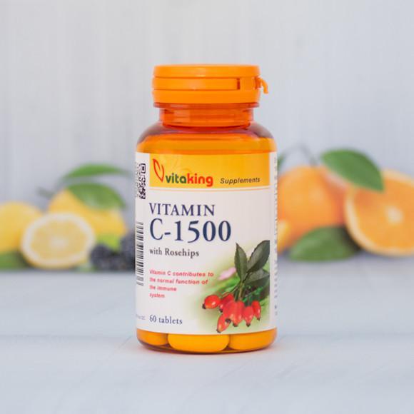 Vitaking C-vitamin 1500 mg 60 szem