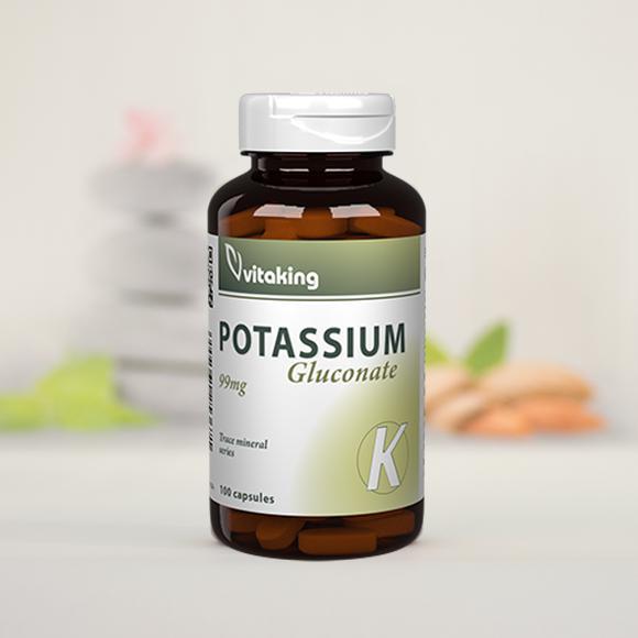 Vitaking Kálium 99 mg 60 szem