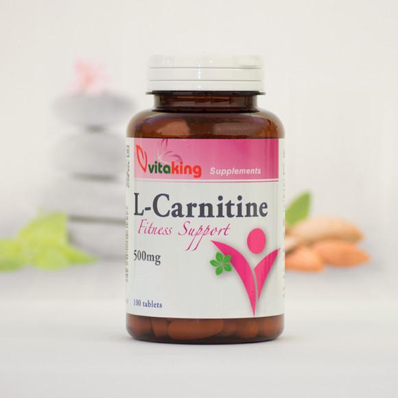 Vitaking L-karnitin 500 mg 100 szem