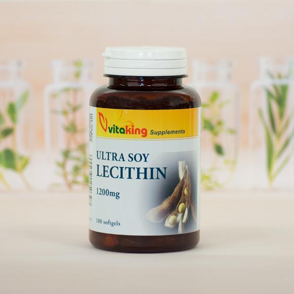 Vitaking Lecitin 1200 mg 100 szem