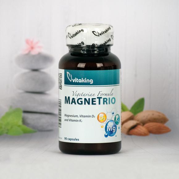 Vitaking MagneTrio (Mg+D3+K2) 90 kaps