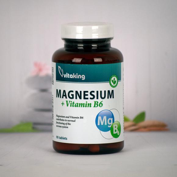 Vitaking  Magnézium citrát+B6 vitamin (90)