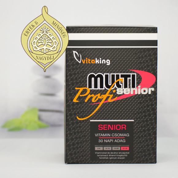 Vitaking Multi Senior Profi vitamincsomag (50+)