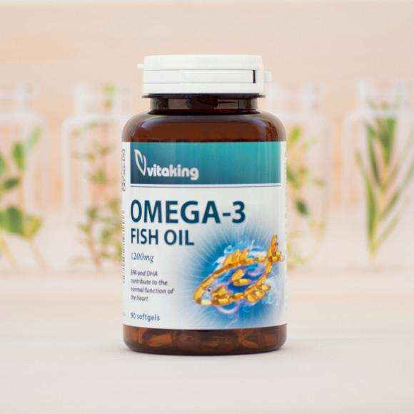 Vitaking OMEGA-3 1200MG - 100 szem
