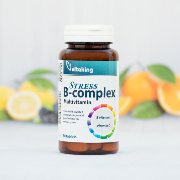 Vitaking Stressz B-komplex - 60 szem