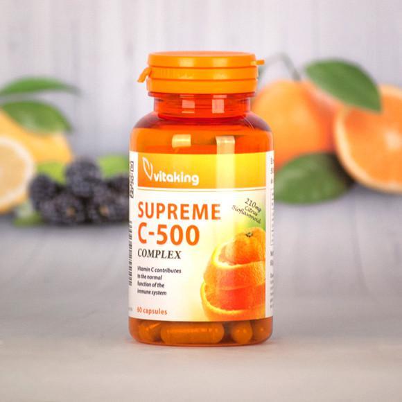 Vitaking Supreme C 500 mg komplex + 210 mg bioflav 60 szem