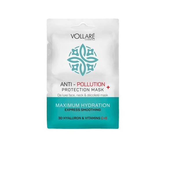VOLLARE Szennyeződésgátló hidratáló maszk 2×5 ml