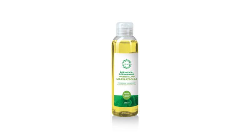 YAMUNA Borsmenta-rozmaringos növényi alapú masszázsolaj 250 ml