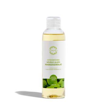 YAMUNA Citromfüves növényi alapú masszázsolaj 250 ml