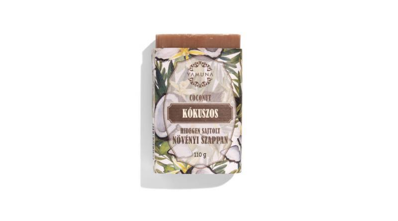 YAMUNA Kókuszos hidegen sajtolt szappan 110 g