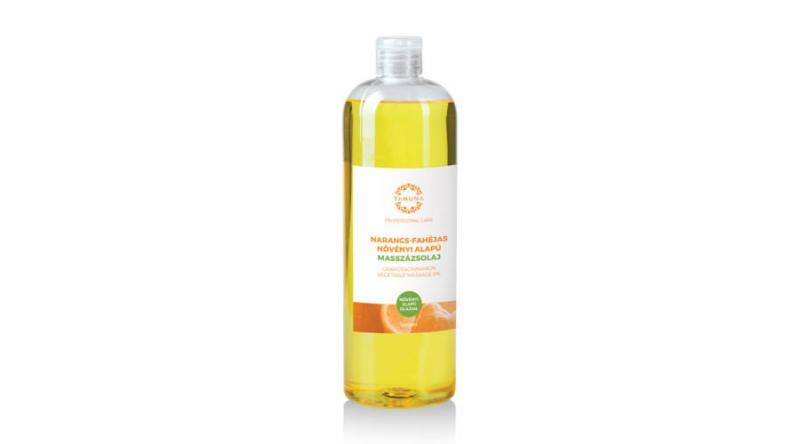 YAMUNA Narancs-fahéjas növényi alapú masszázsolaj 1000 ml