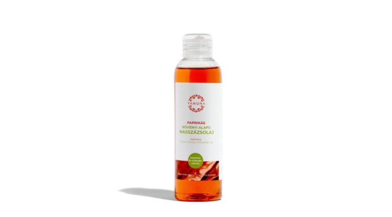 YAMUNA Paprikás növényi alapú masszázsolaj 250 ml