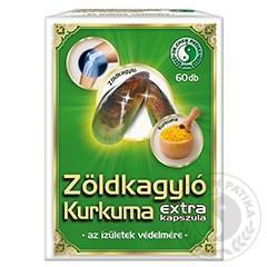 Zöldkagyló Kurkuma extra kapszula Dr.Chen 60szem